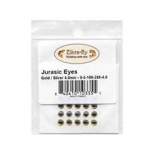 Bilde av Jurasic Eyes 4,0mm 286 Gold/Silver