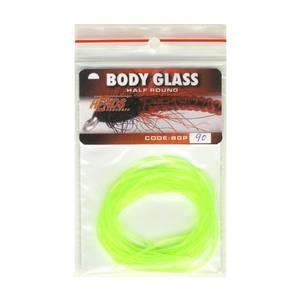 Bilde av Body Glass Half Round 90 fluo yellow